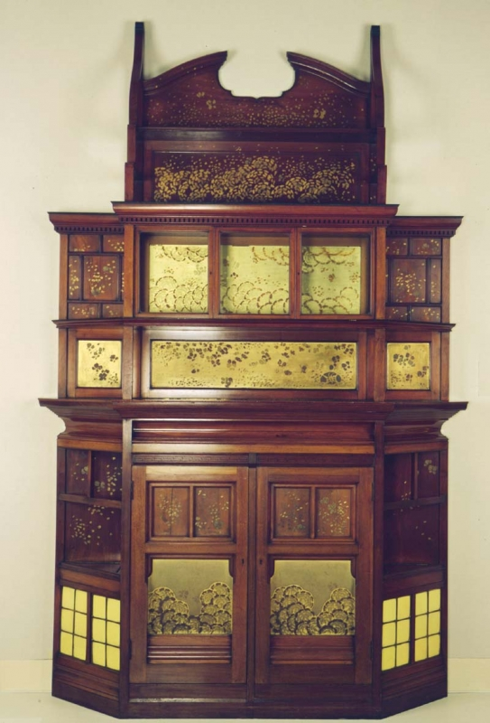 Harmony in Yellow and Gold: The Butterfly Cabinet