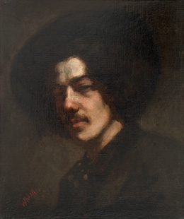Portrait of Whistler with Hat, 1857/1859, Freer Gallery of  Art, Washington, DC.