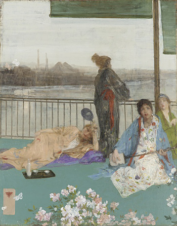 Variations in Flesh Colour and Green: The Balcony, 1865, Freer Gallery of  Art, Washington, DC.