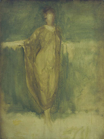 Harmony in Green and Amber: A Draped Study, 1896/1899, The Hunterian, University of Glasgow